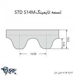 تسمه تایمینگ 1008 S14M صنعتیعکس شماره 7