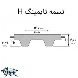 تسمه تایمینگ 245 H صنعتیعکس شماره 6